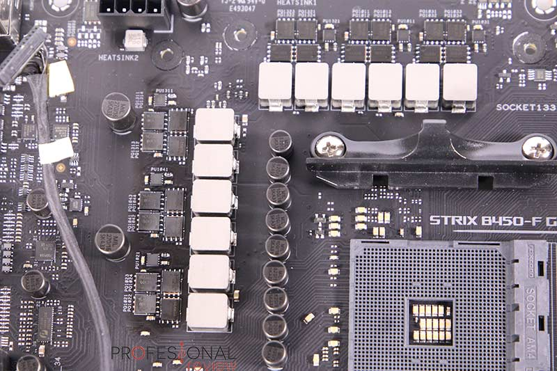 Asus ROG Strix B450-F Gaming II VRM