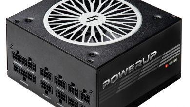 Photo of Chieftronic Powerup, nuevas PSU 80 Plus Gold parecidas a unas llantas