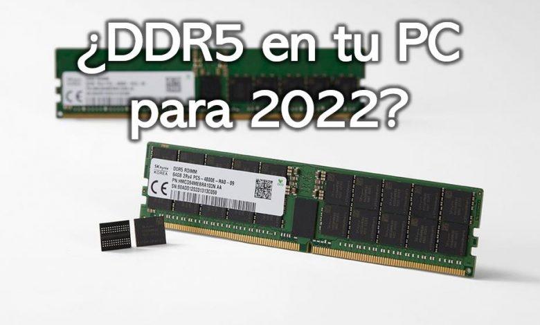 Photo of 2022 será el año de DDR5: los analistas esperan movimientos de Intel y AMD para ese año