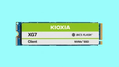 Photo of Kioxia XG7 y XG7-P saldrán en 2021 con interfaz PCIe 4.0