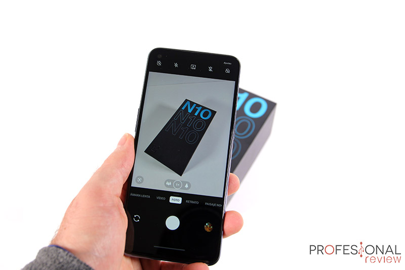 OnePlus Nord N10 5G Cámara