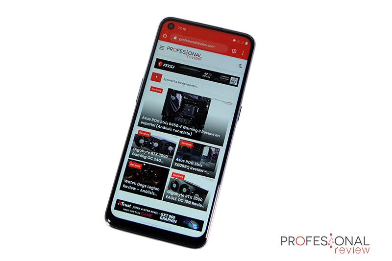 OnePlus Nord N10 5G Pantalla
