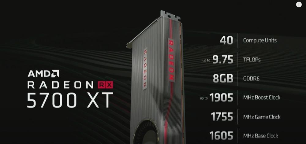 RDNA RX 5700 XT