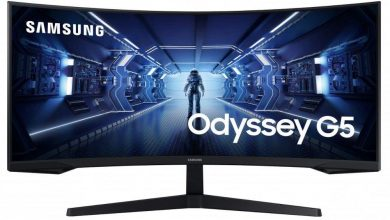 Photo of Samsung C34G55T se une a la línea Odyssey G5 con panel de 165Hz