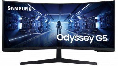 Photo of Samsung C34G55T se une a la línea Odyssey G5 con panel de 165Hz