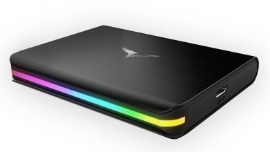 Photo of TeamGroup Treasure Touch, flamante SSD externo con iluminación RGB
