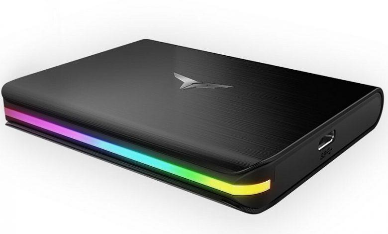 Photo of TeamGroup Treasure Touch, flamante SSD externo con iluminación RGB