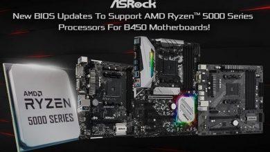 Photo of Las placas ASRock B450 ya soportan los procesadores Ryzen 5000