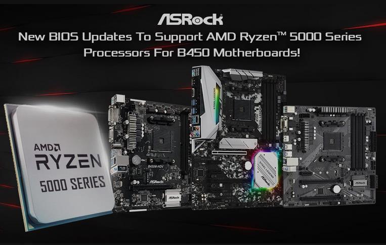 B450 Ryzen 5000 ASRock