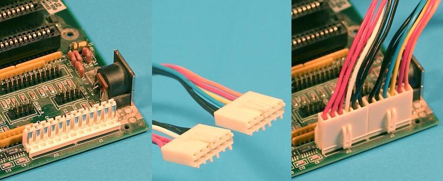 Conector fuente AT