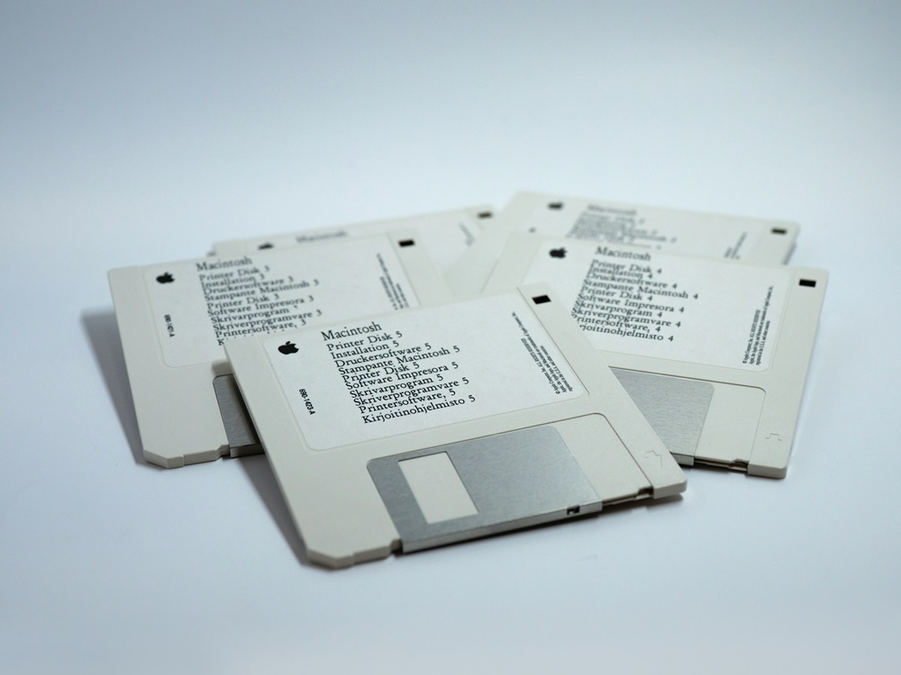 disquete antiguo