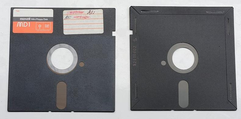 disquete 5.25 pulgadas