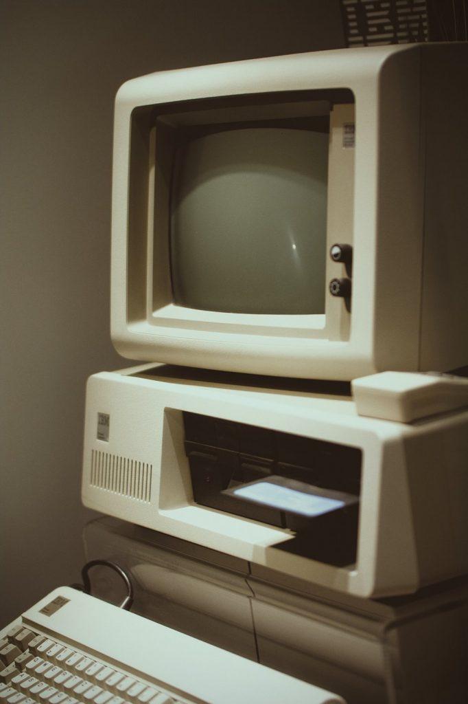 disquete antiguo usar