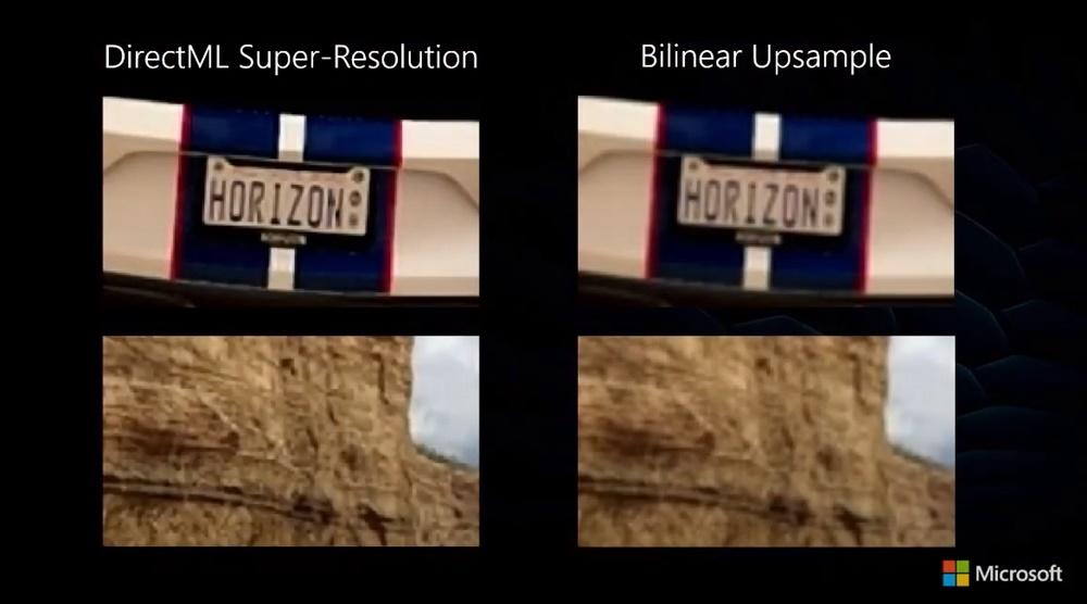 DirectML Super-Resolution