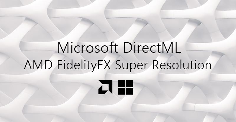 microsoft directml