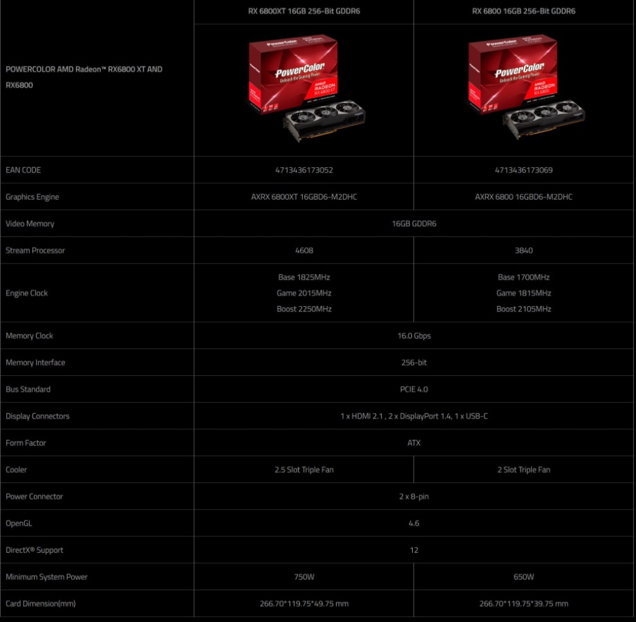 powercolor rx 6800 xt 6800
