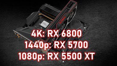 Photo of AMD da sus recomendaciones oficiales de GPU: nada por debajo de la RX 6800 para 4K