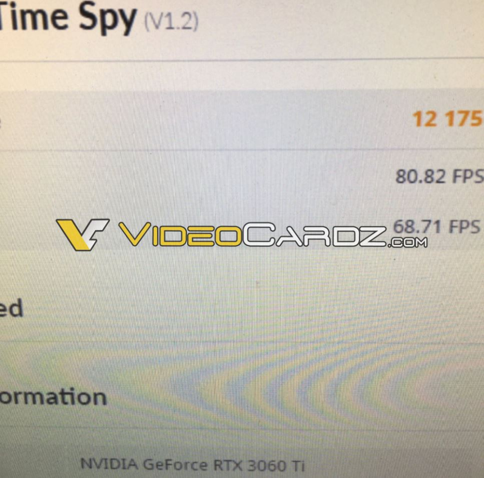 rtx 3060 Ti 3dmark time spy