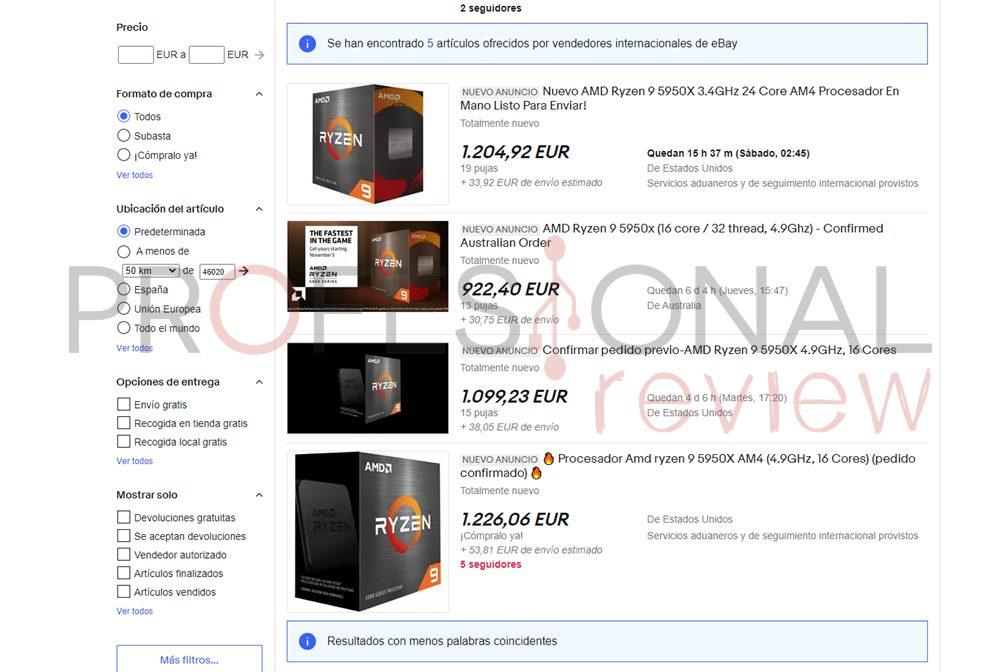 ryzen 5000 ebay