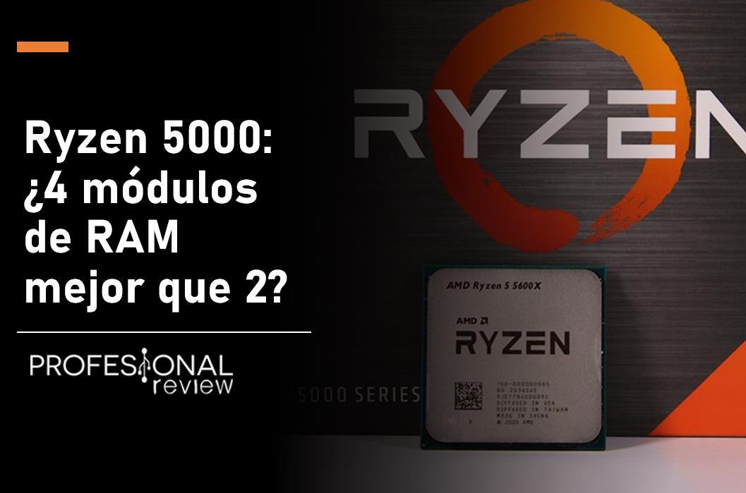 Ryzen 5000 módulos de RAM