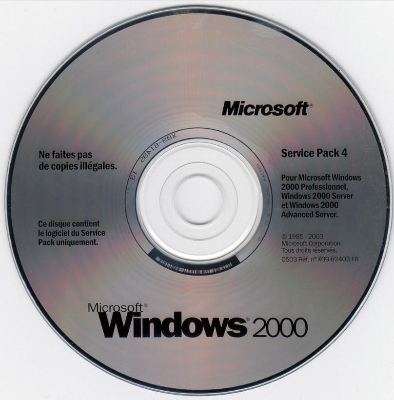 windows 2000 disco