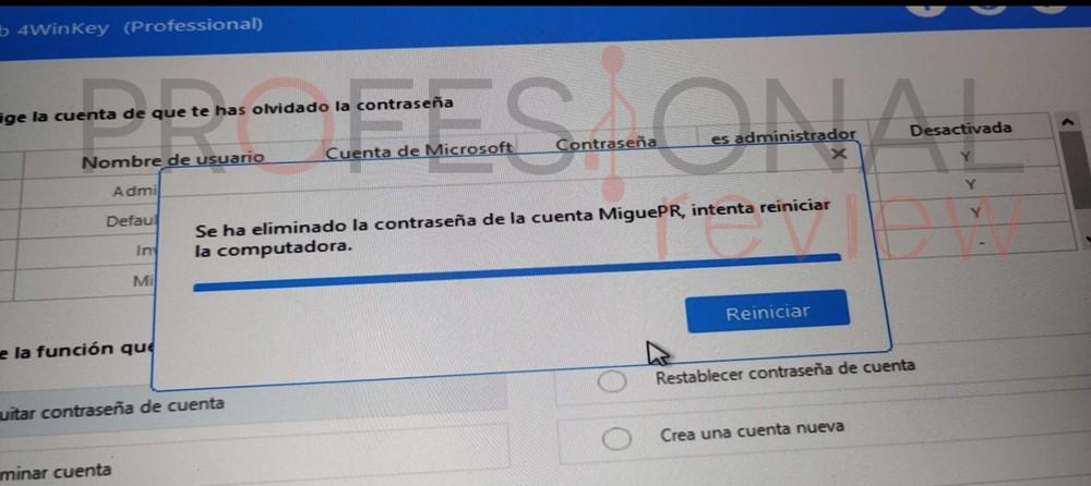 cómo quitar contraseña Windows 10