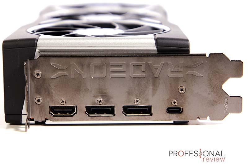 AMD Radeon RX 6900 XT Puertos