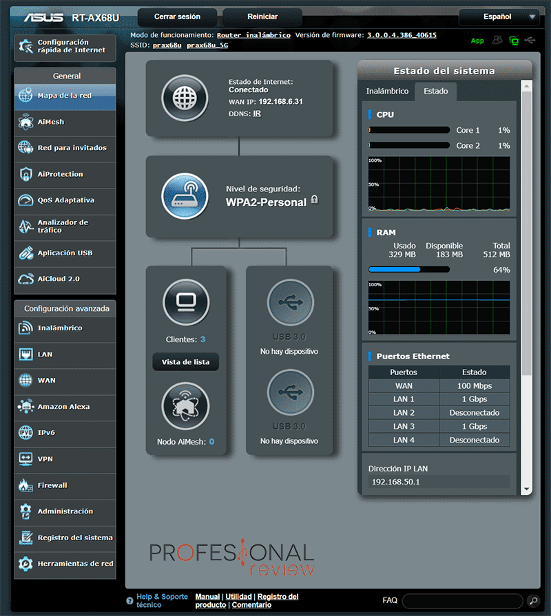 Asus RT-AX68U Firmware