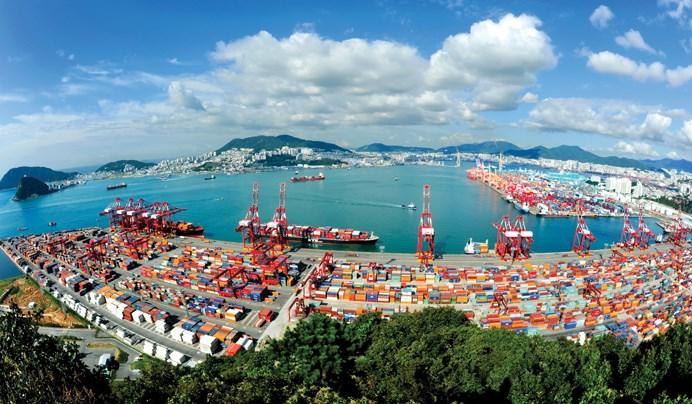 Busan Samsung puerto