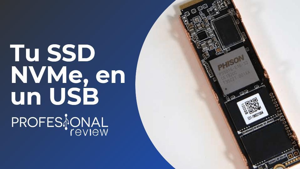 Convertir SSD NVMe en USB