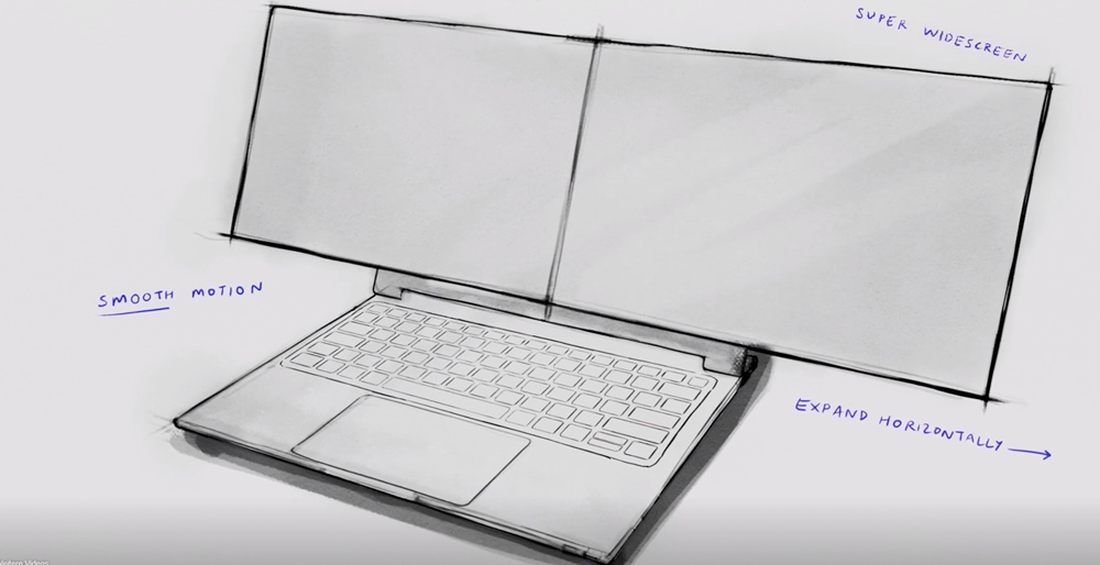 Dell portátil pantallas Concept Duet