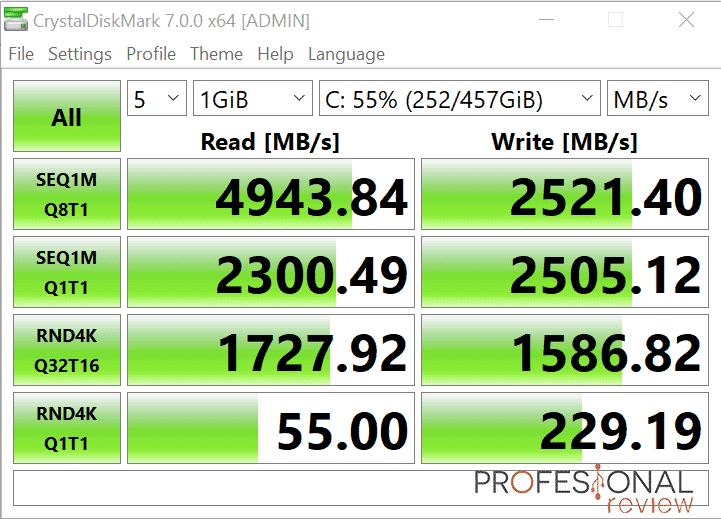 MSI Prestige 14 Evo SSD