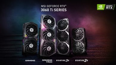 Photo of MSI RTX 3060 Ti, se presentan las series Gaming X y Ventus