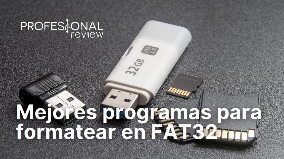 Mejores programas para formatear en FAT32
