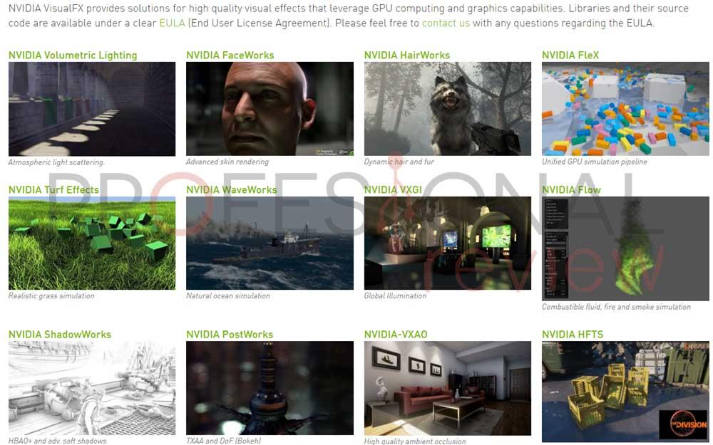 NVIDIA Gameworks VisualFX