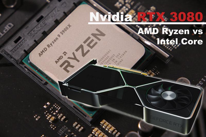 Nvidia RTX 3080 con AMD Ryzen 01