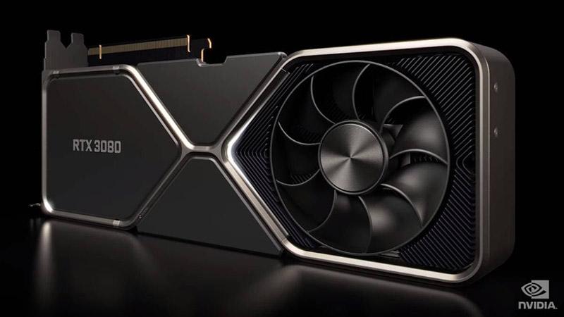 Nvidia RTX 3080 con AMD Ryzen 03