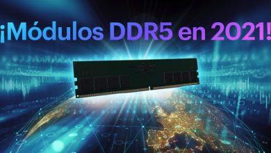 Photo of Los primeros módulos DDR5 para PC llegarán en el tercer trimestre de 2021 a 4800MHz