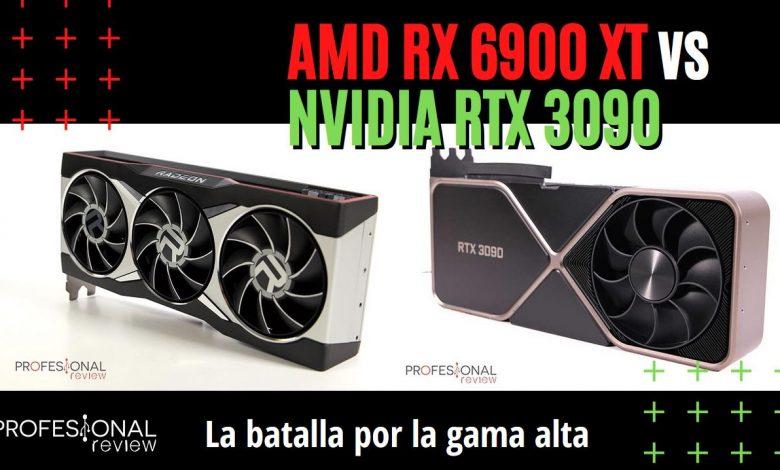 AMD Radeon RX 6900 XT vs NVIDIA GeForce RTX 3090