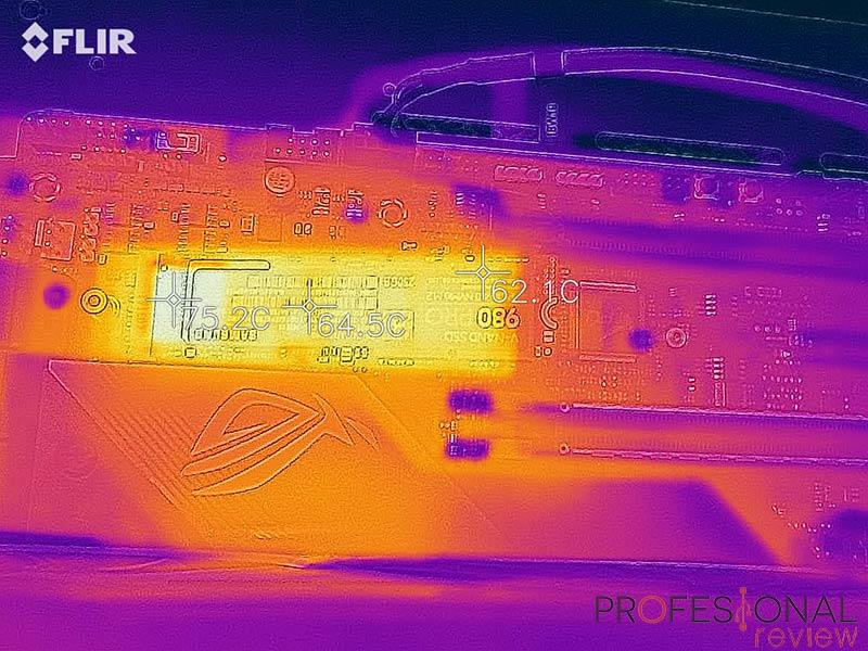 Samsung 980 Pro temperaturas
