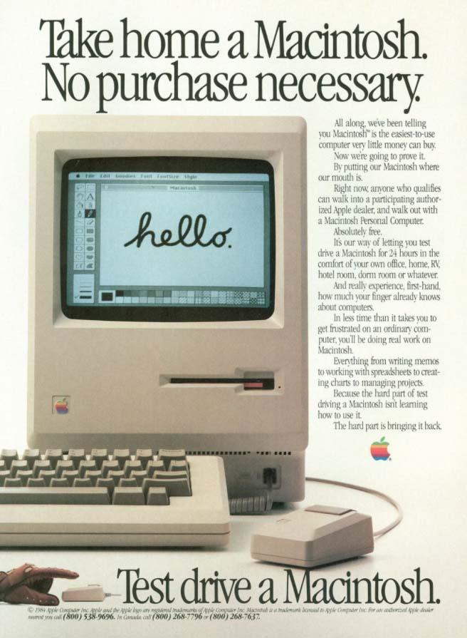 apple macintosh anuncio