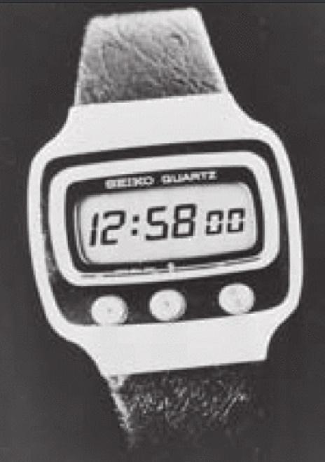 reloj seiko LCD