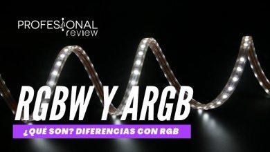 led rgbw y argb