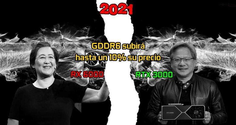 precio ram RTX 3000 rx 6000