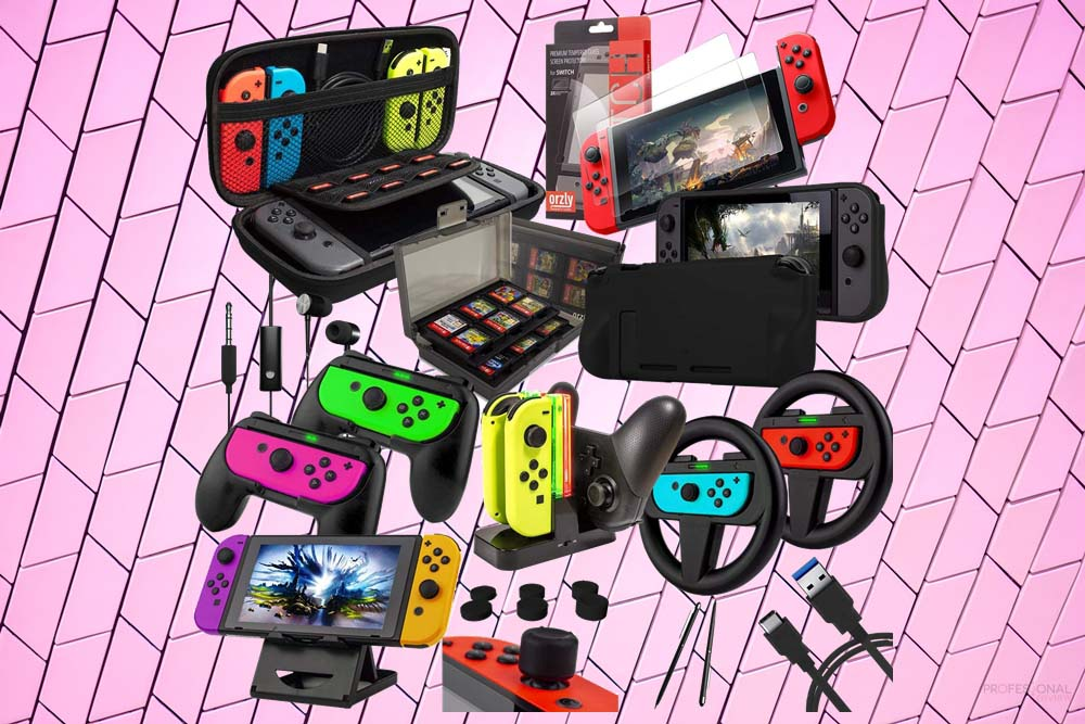 regalos gamer accesorios Nintendo Switch