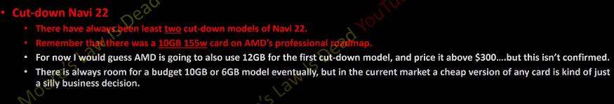 AMD RX 6700 XT especificaciones