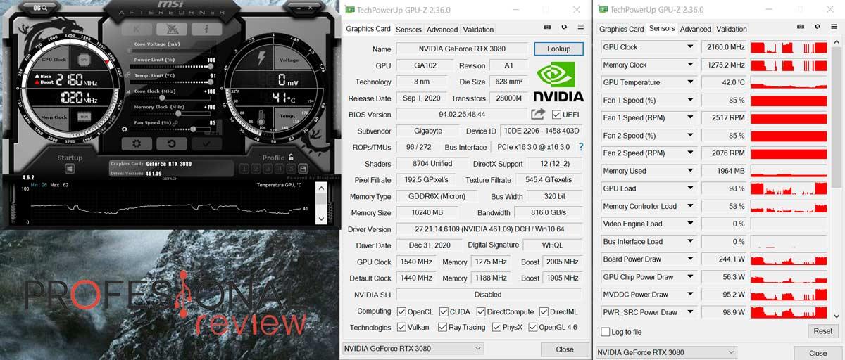 AORUS RTX 3080 Extreme 10G OC