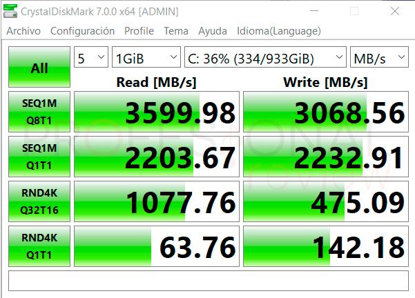 Asus ROG Strix SCAR 15 G533QS SSD