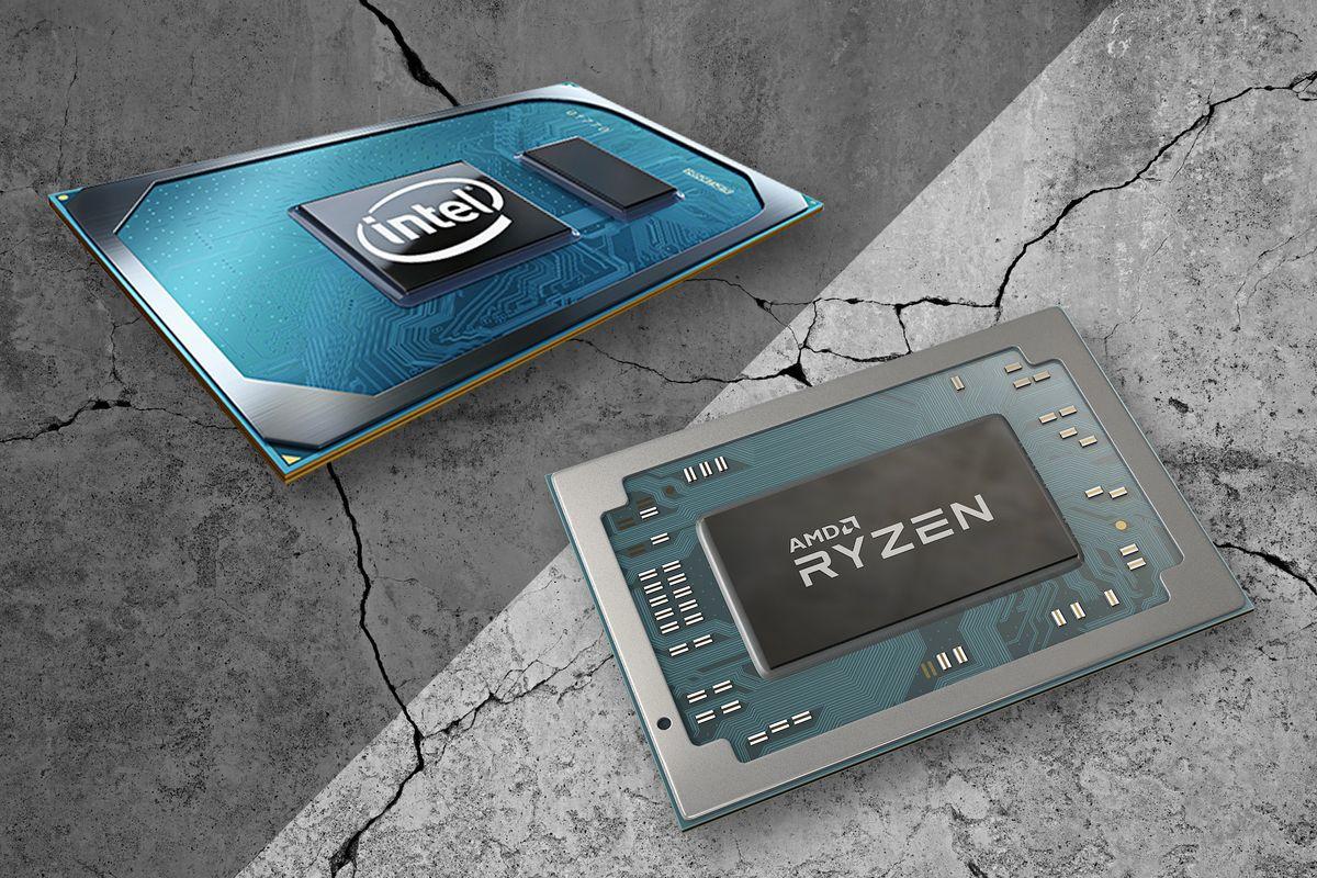 Core i7 vs Ryzen 4000