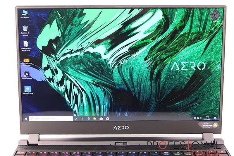 Gigabyte AERO 15 OLED XC Pantalla